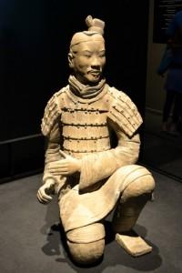 Terrakotta-figur  fra den kinesiske Terrakottahær.