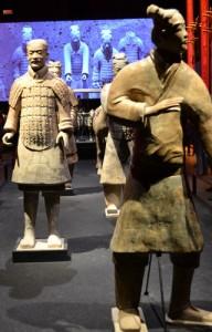 Terrakotta-figurer fra den kinesiske Terrakottahær.