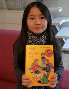 Jeg har læst Alle for én i serien K for Klara.