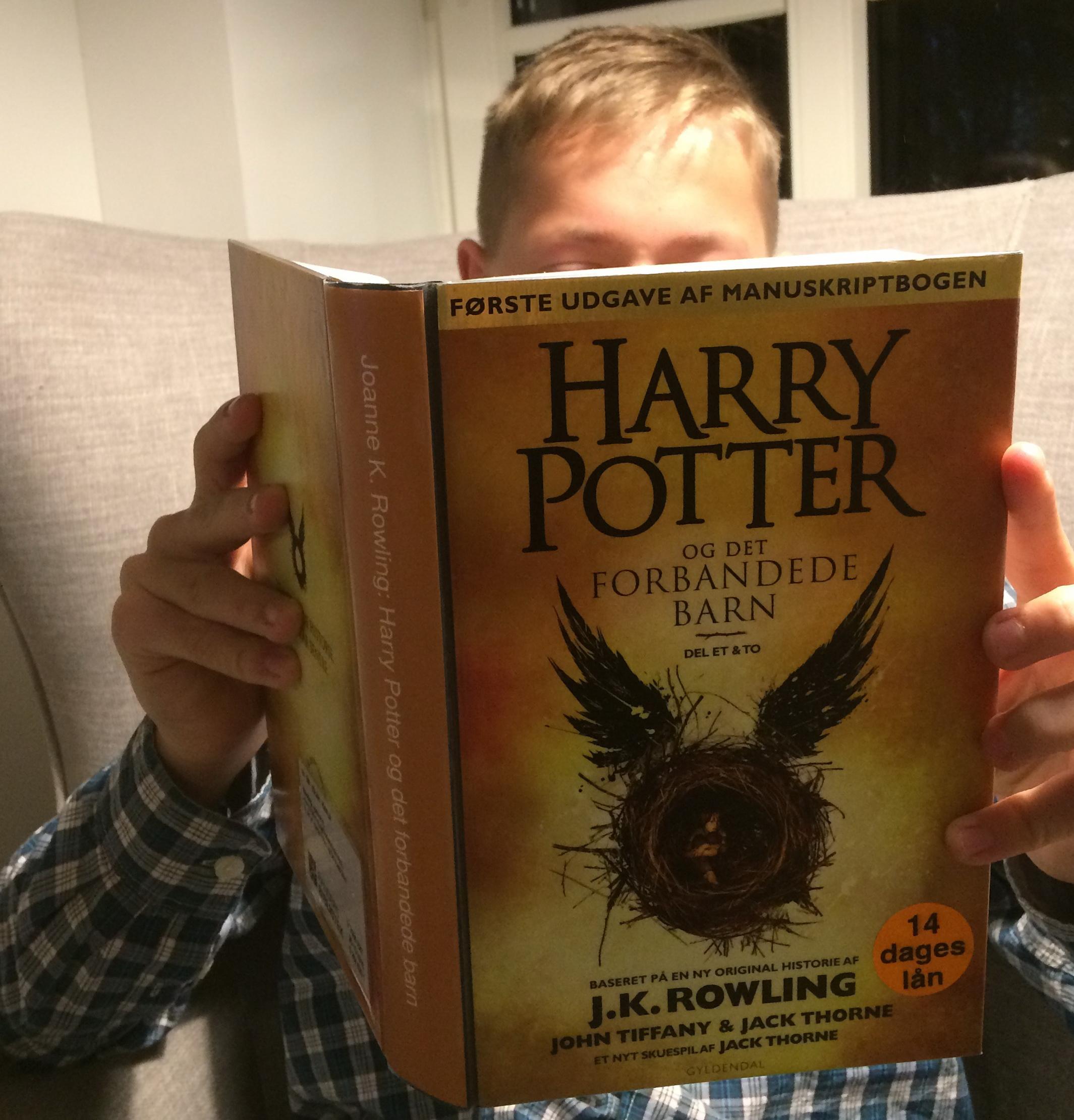 første harry potter bog