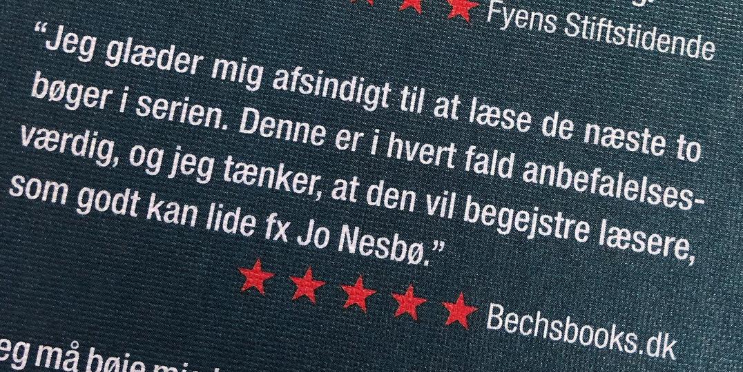 Fra coveret på Hjerteknuser af Geir Tangen