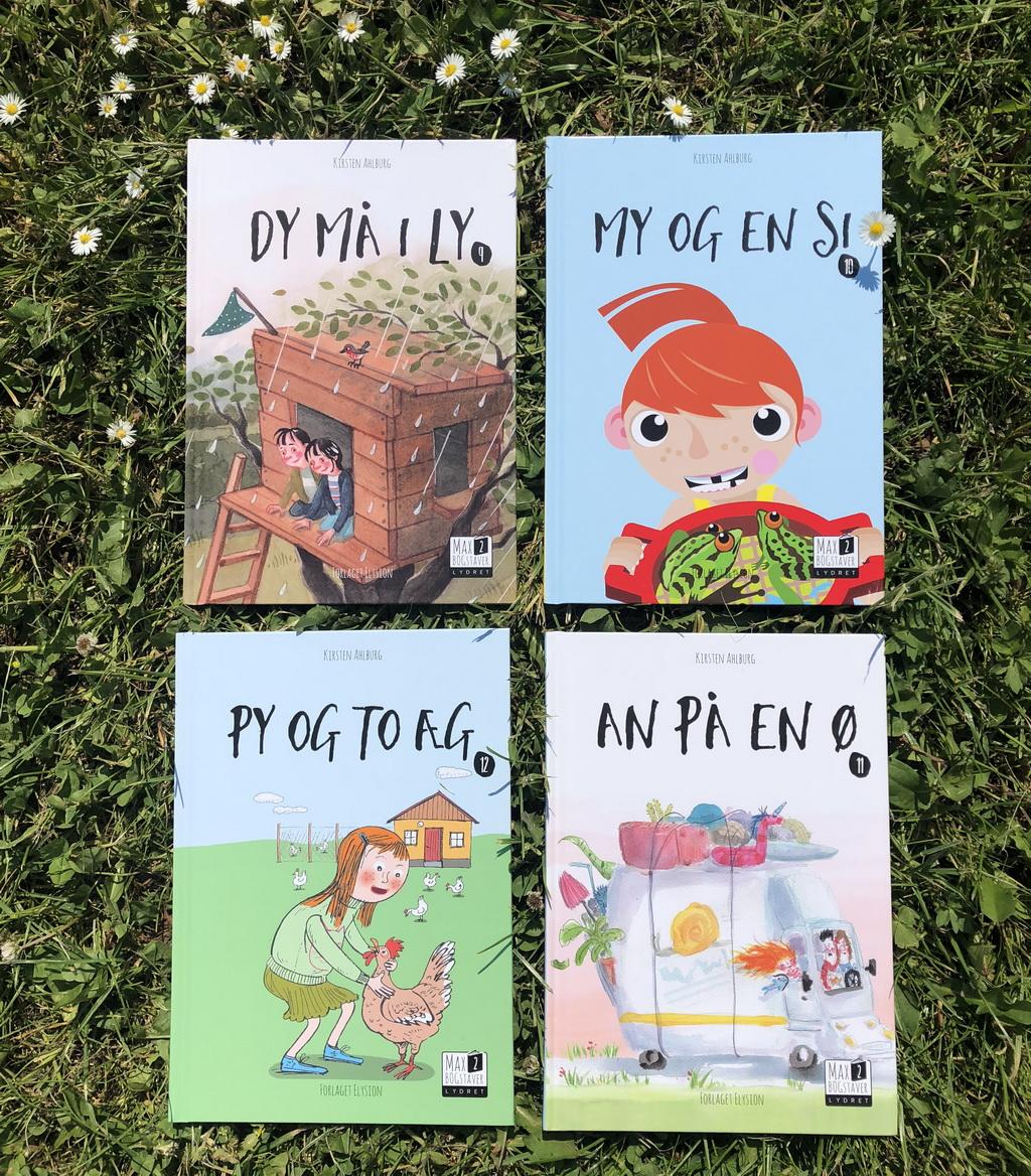 Max 2-serien 9-12 af Kirsten Ahlburg