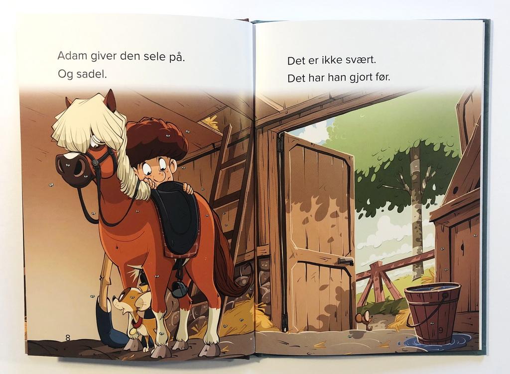 Opslag i Adams pony af Jørn Jensen