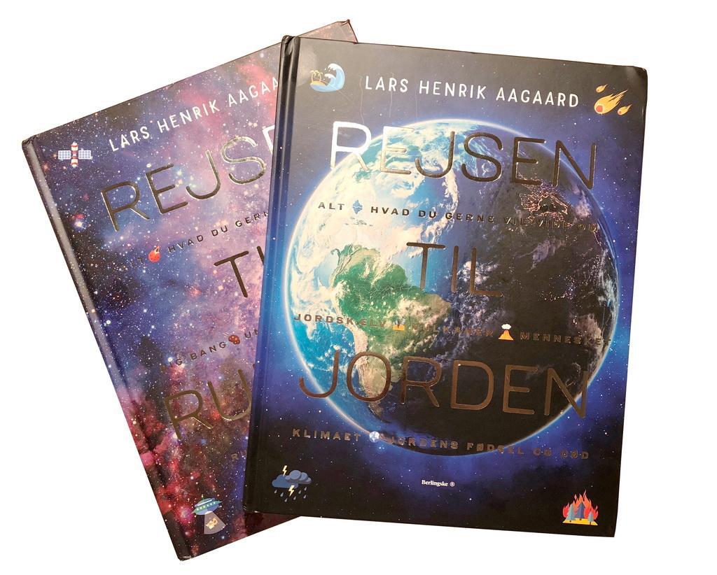 Rejsen til jorden og Rejsen til rummet af Lars Henrik Aagaard