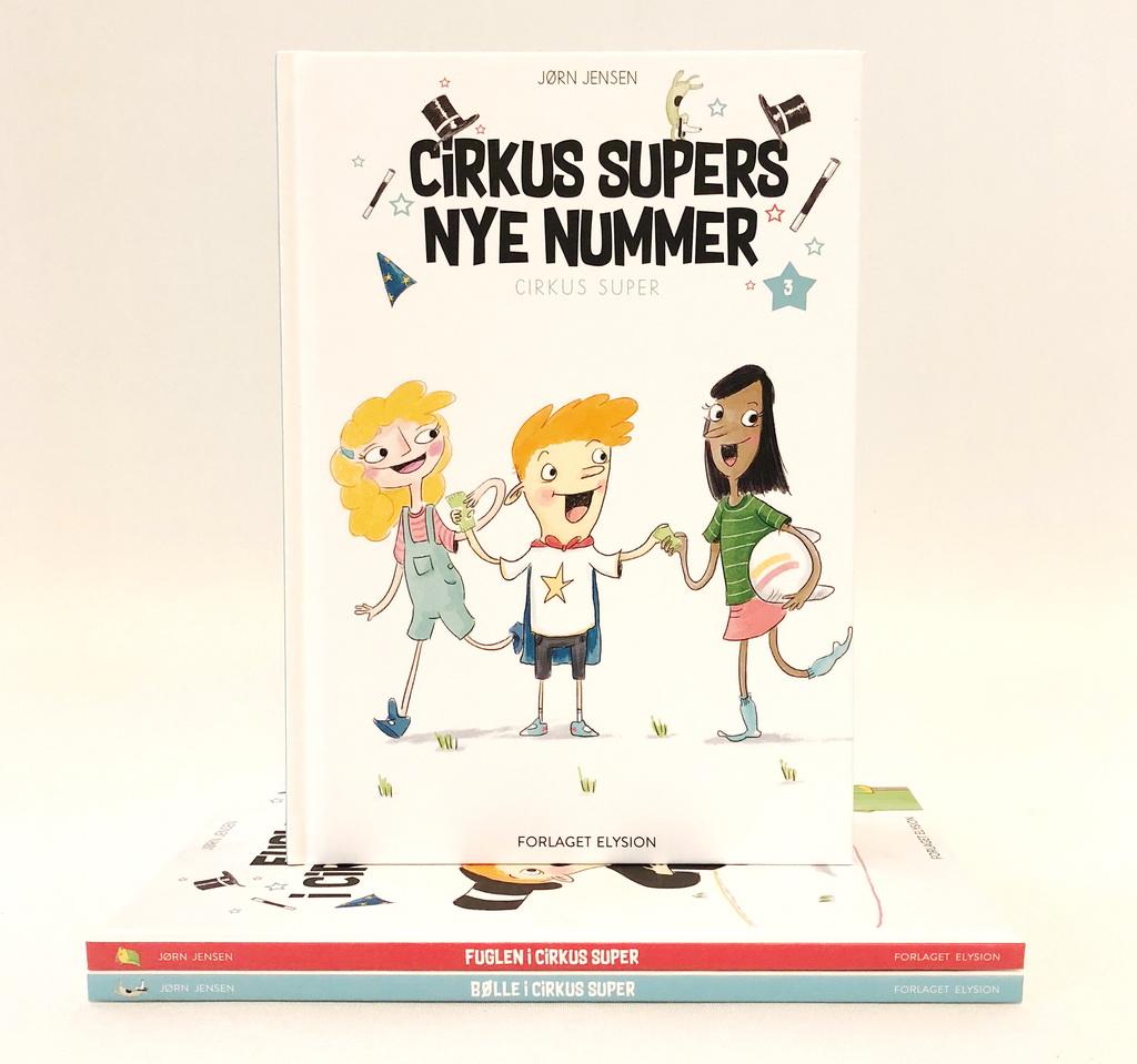 Cirkus Supers nye nummer af Jørn Jensen