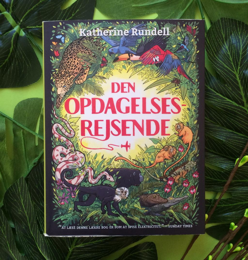 Den opdagelsesrejsende af Kathrine Rundell