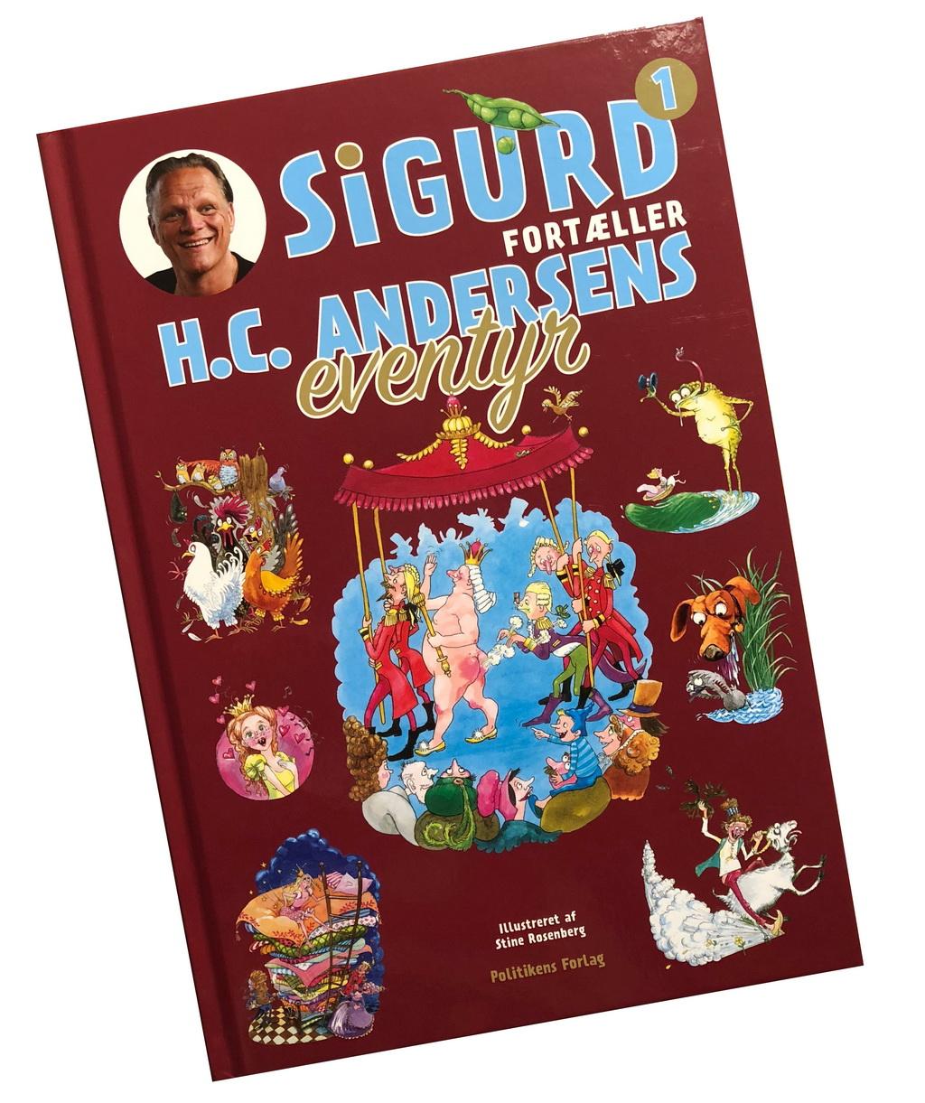 1. bind af Sigurd fortæller H.C. Andersens eventyr