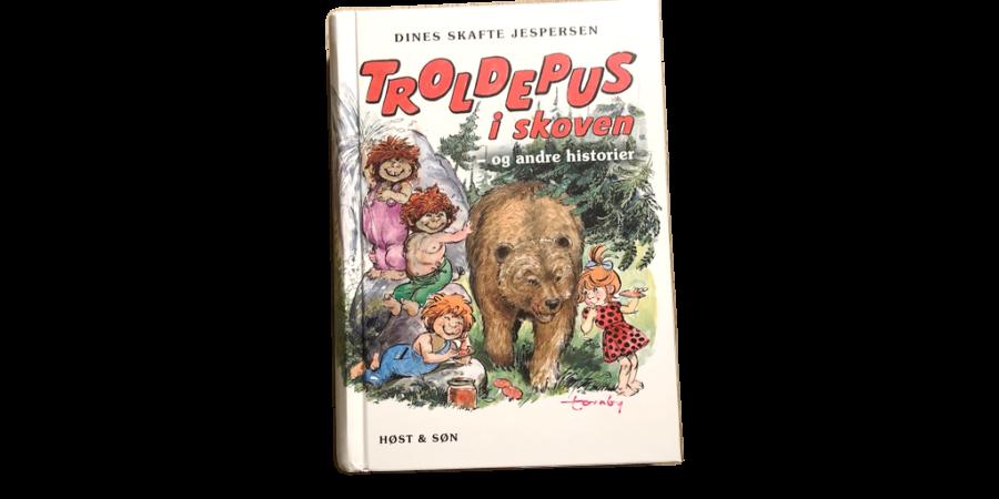 Troldepus i skoven - og andre historier af Dines Skafte Jespersen