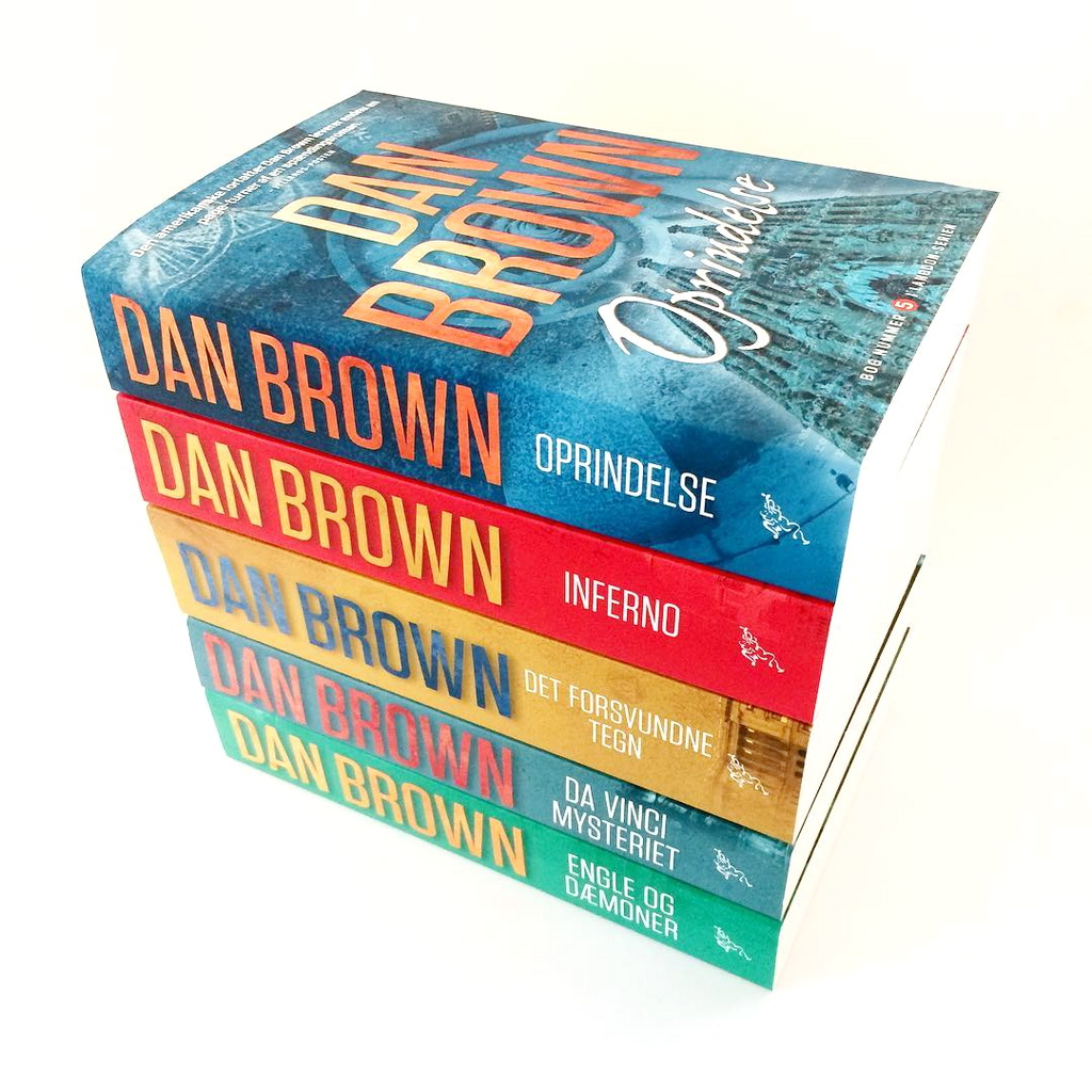 Dan Browns serie om Robert Langdon