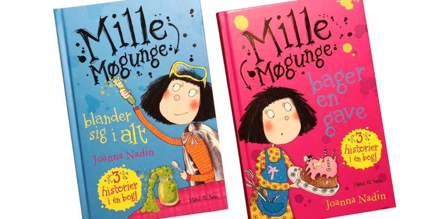 Mille Møgunge 3 og 4 af Joanna Nadin