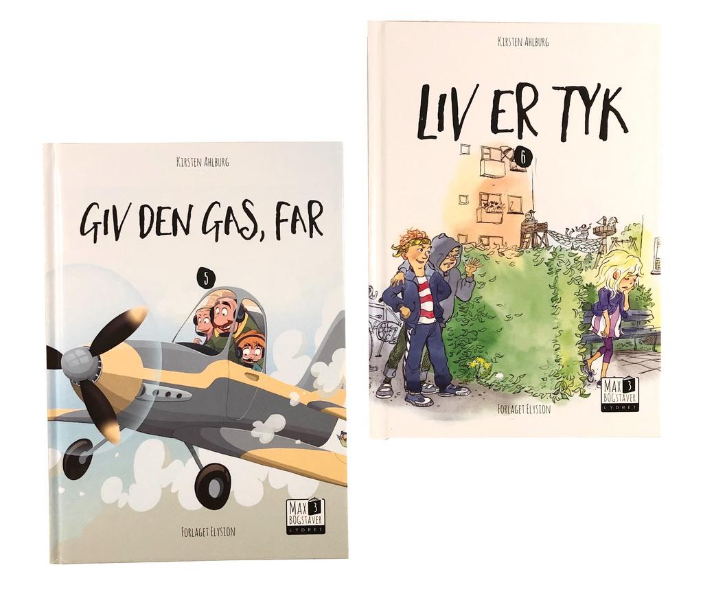 Max 3-serien 5 og 6 af Kirsten Ahlburg