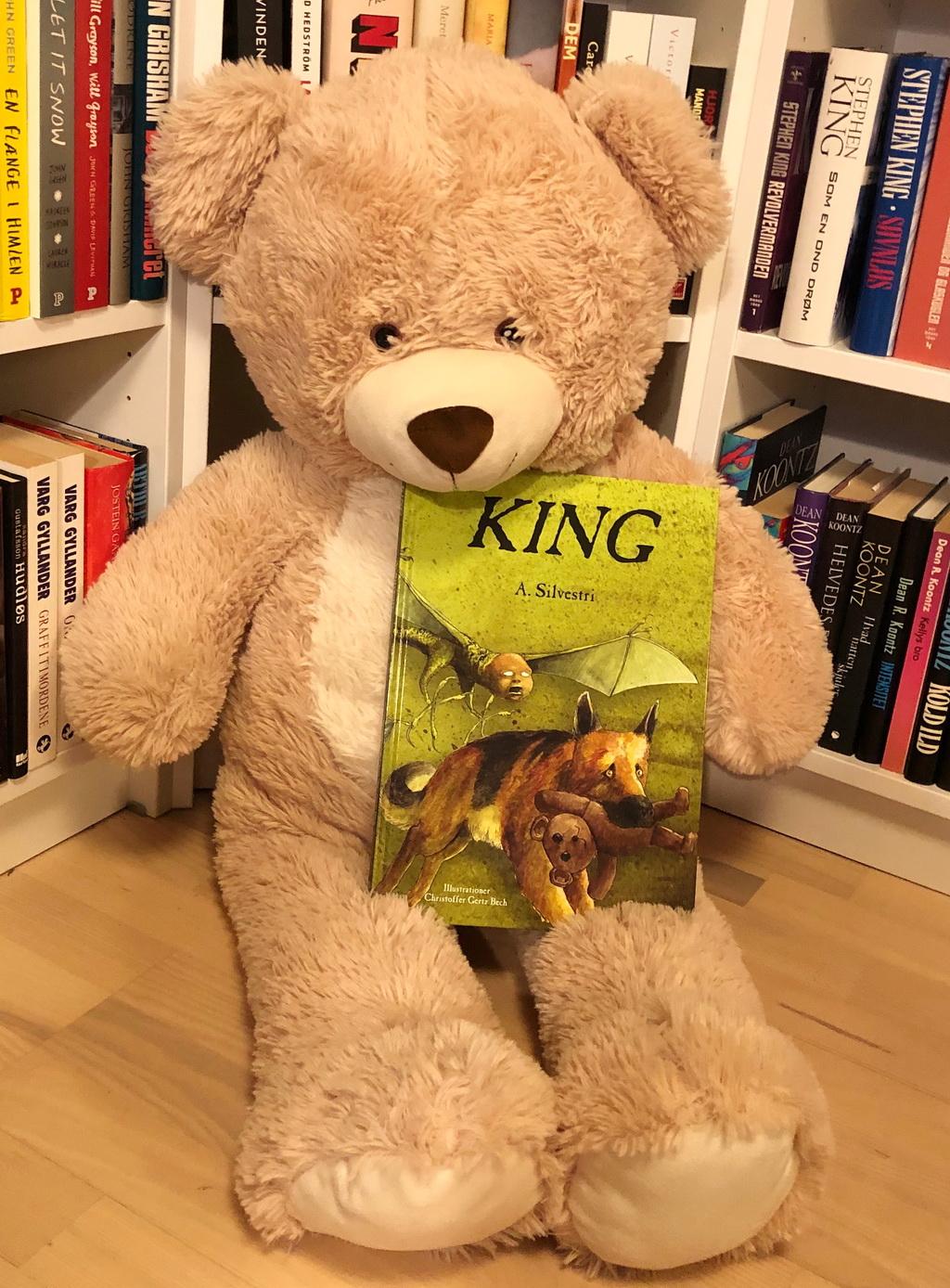 """King af A. Silvestri - Ja, jeg ved det godt - billedet er alt for """"sødt""""."""