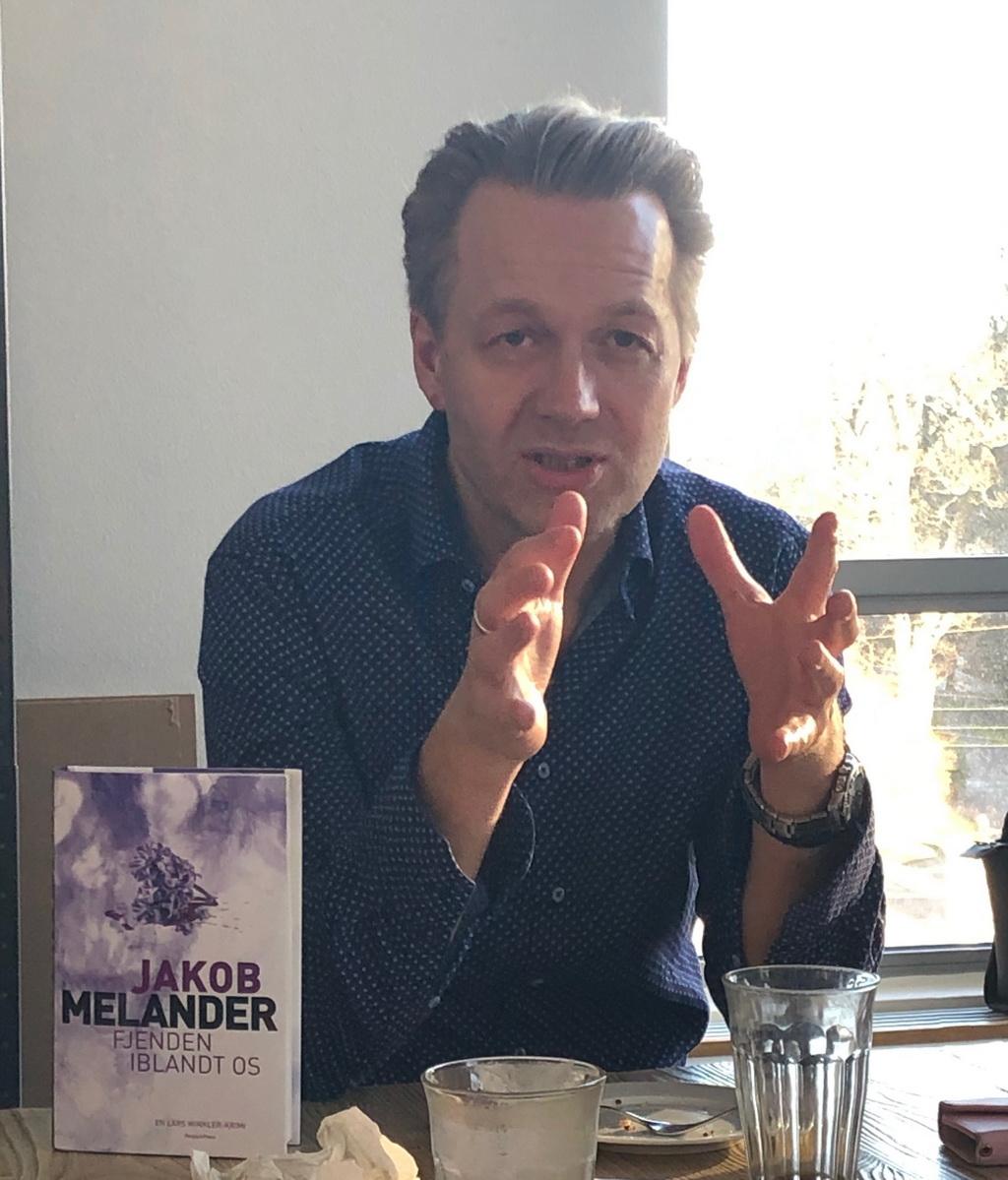 Jakob Melander fortæller om sin nye bog - og om sit forfatterskab.