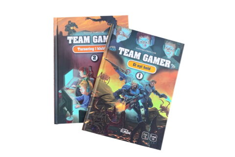 Team Gamer 1+2 af Natasja Erbillor