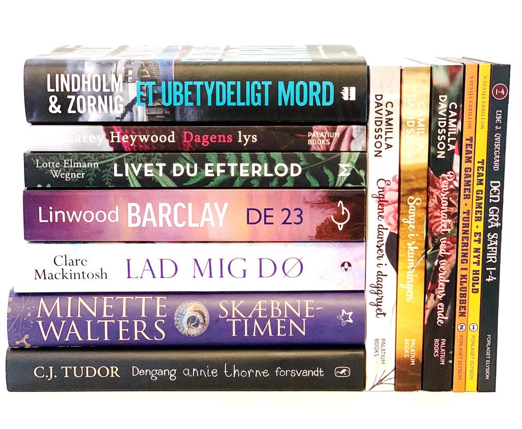 Bøger læst i april 2019