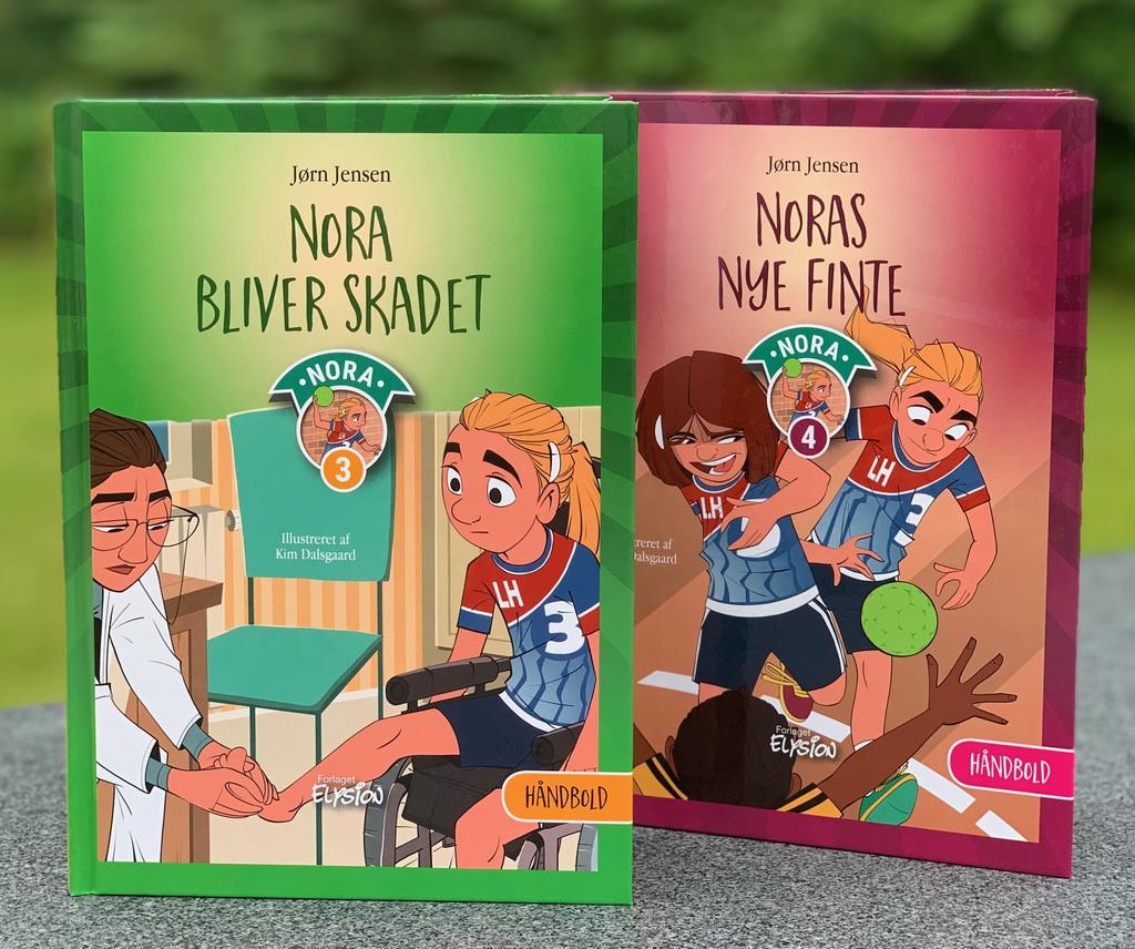 Nora-serien 3-4 af Jørn Jensen