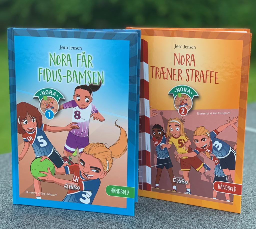 Nora-serien 1-2 af Jørn Jensen