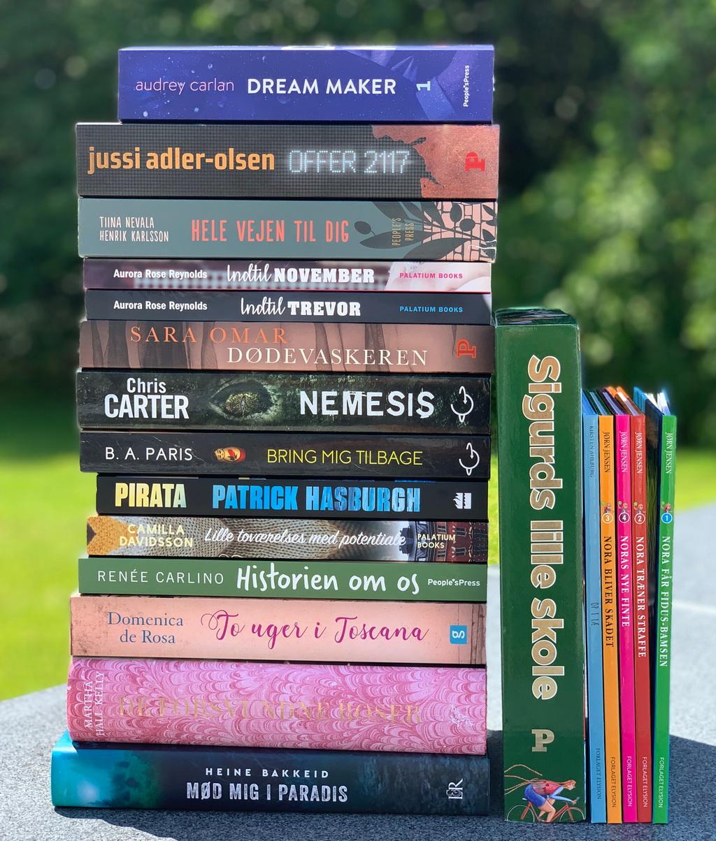 Bøger læst i juni 2019