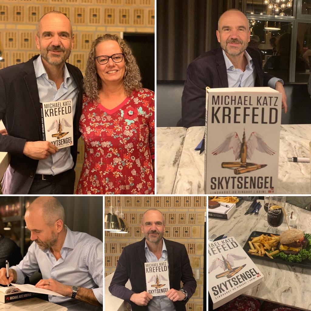 Billeder fra bloggerevent med Michael Katz Krefeld.