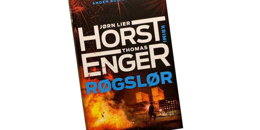 Billede af: Røgslør af Jørn Lier Horst og Thomas Enger