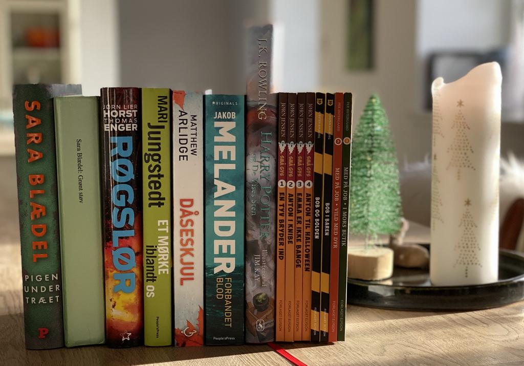 Billede af: Bøger læst i november 2019