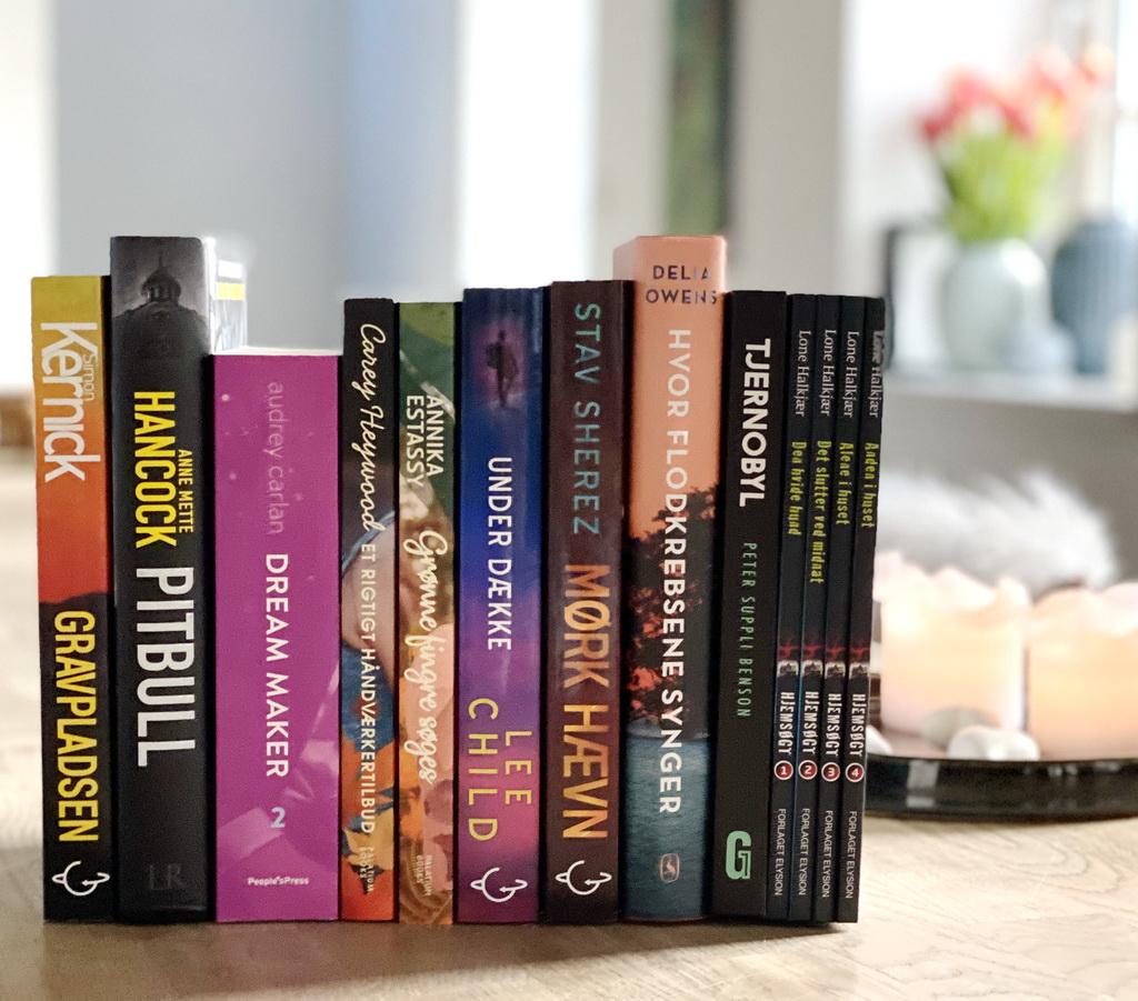 Billede af: Bøger læst i december 2019