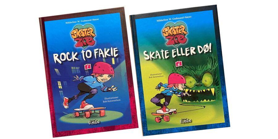 Billede af: Skater Zoe 1-2 af Mikkeline W. Gudmand-Høyer