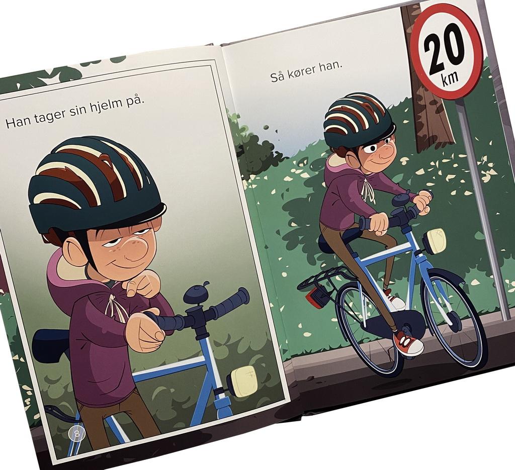 Billede af: Opslag i Adams cykel af Jørn Jensen