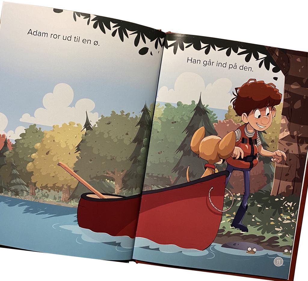 Billede af: Opslag i Adams kano af Jørn Jensen