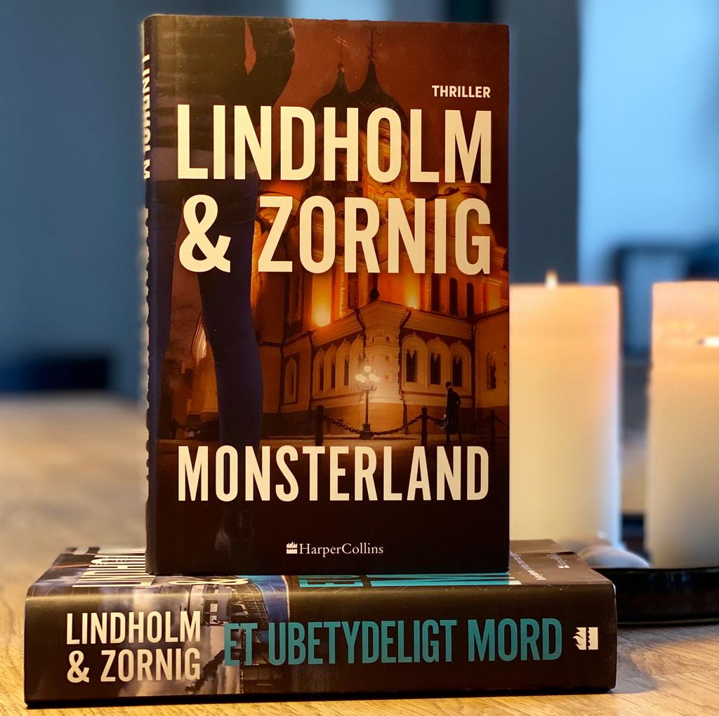 Billede af: Monsterland og Et ubetydeligt mord af Mikael Lindholm og Lisbeth Zornig