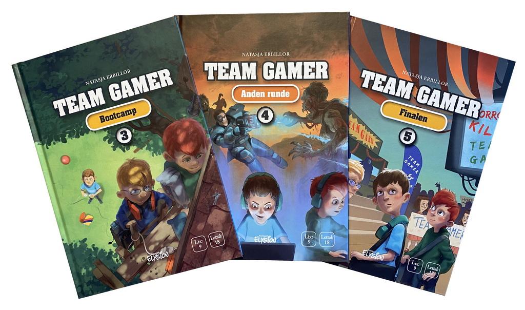 Billede af: Team Gamer 3-5 af Natasja Erbillor