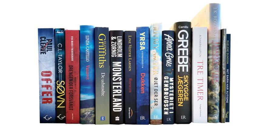Billede af: Bøger læst i marts 2020
