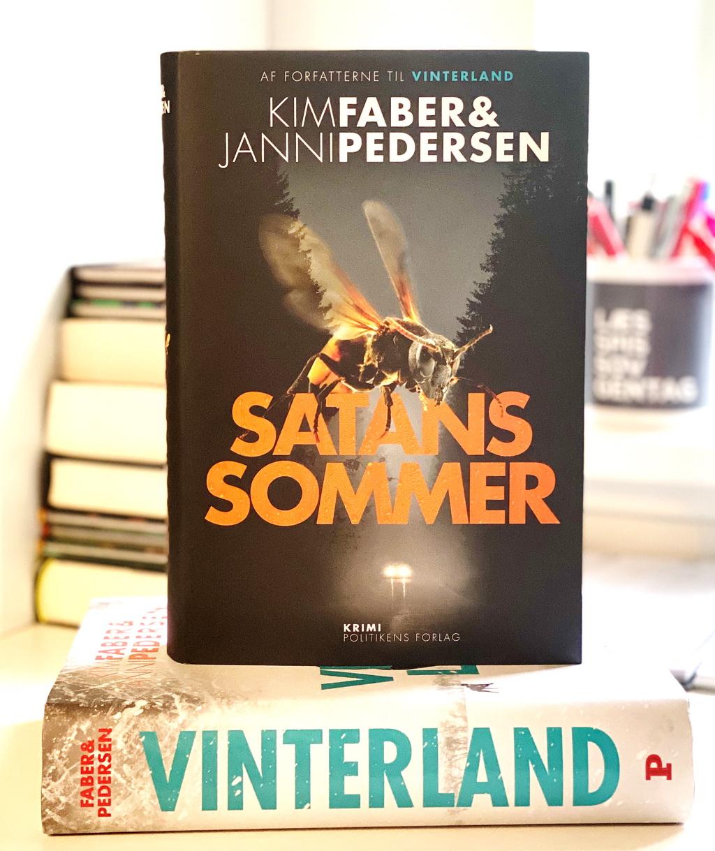 Billede af: Satans sommer og Vinterland af Kim Faber & Janni Pedersen