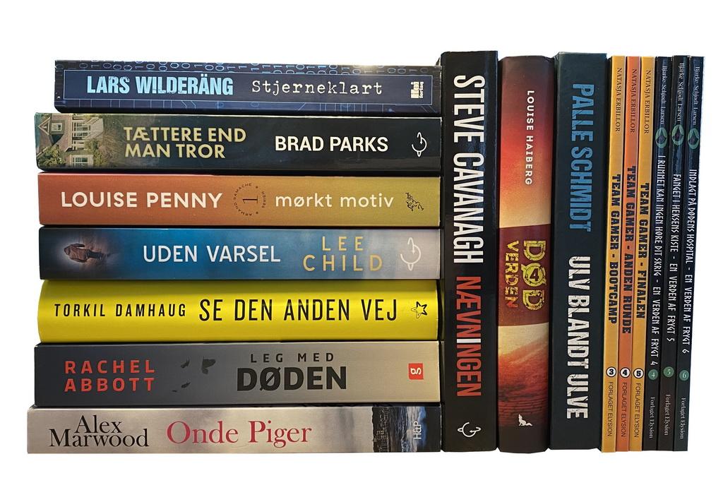 Billede af: Bøger læst i april 2020