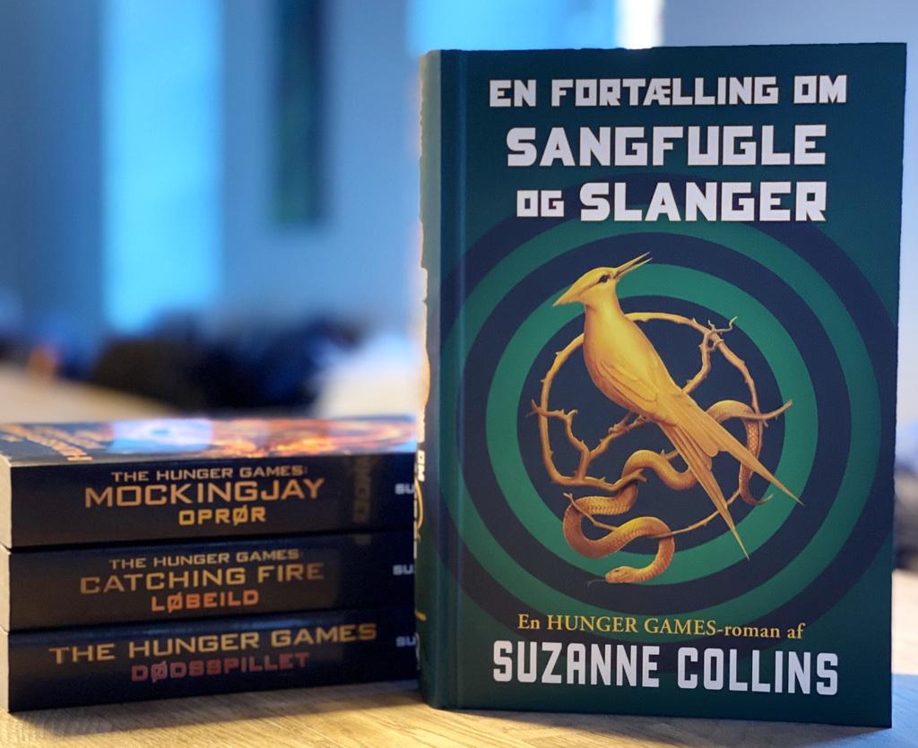 Billede af: Hunger Games-serien og En fortælling om sangfugle og slanger.