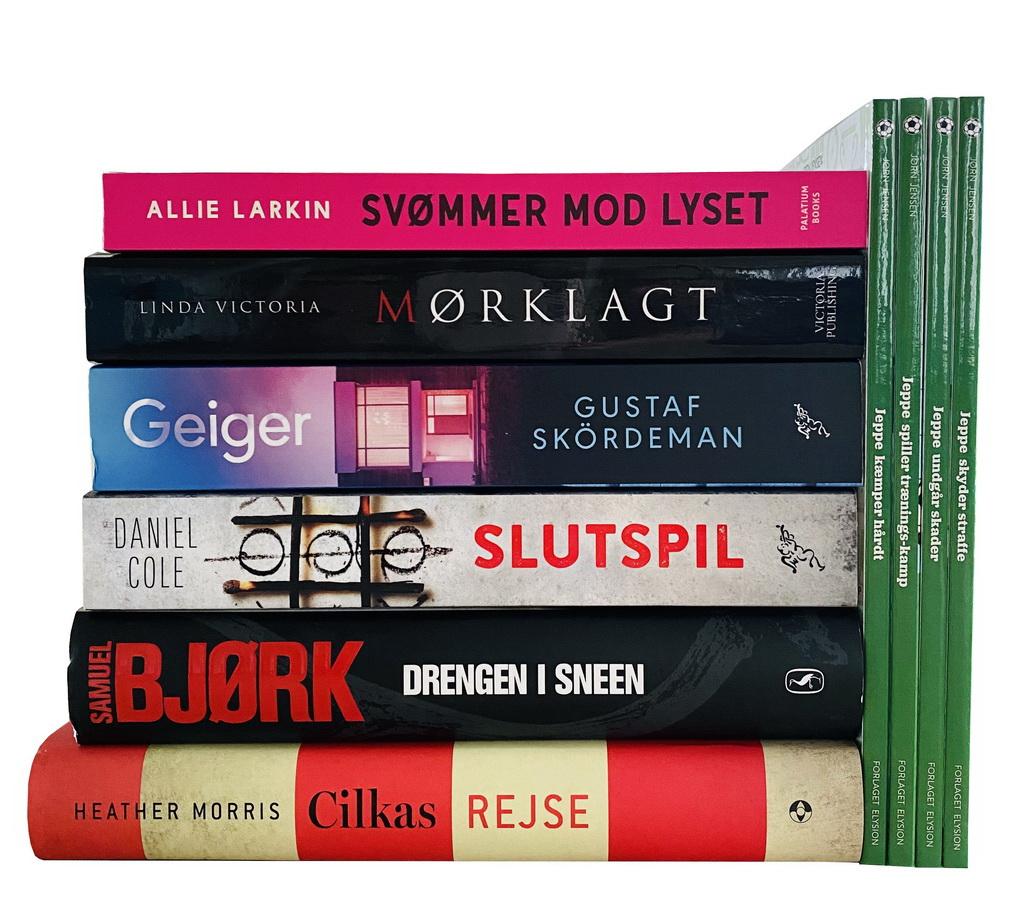 Billede af: Bøger læst i juli 2020