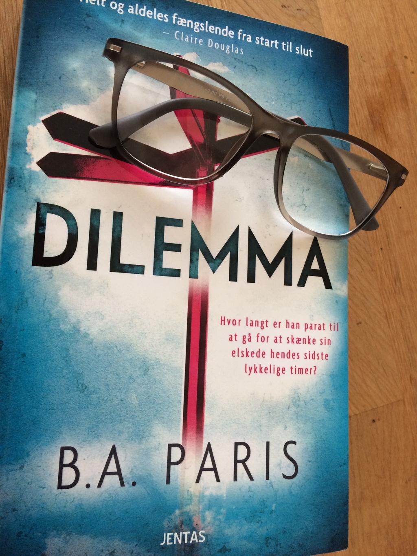 Billede af: Dilemma af B.A. Paris. Billede taget af Maria Wendt.