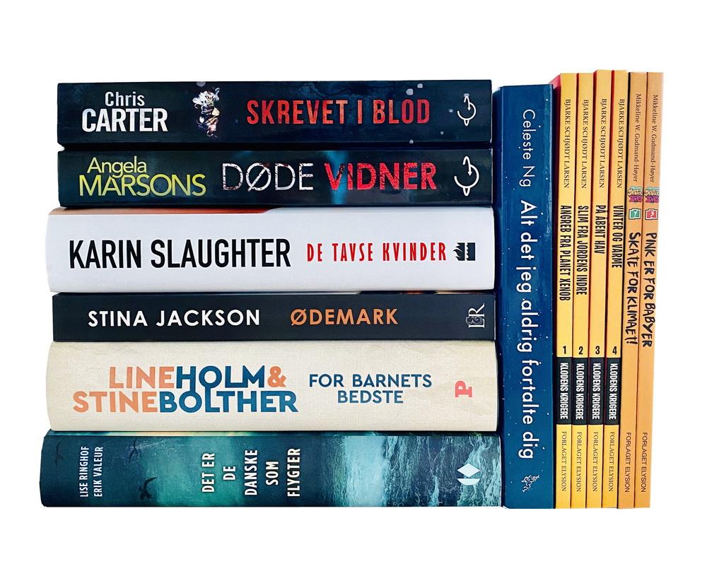 Billede af: Bøger læst i august 2020
