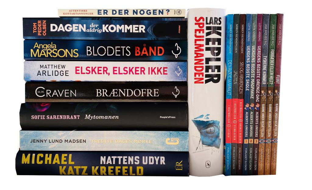 Billede af: Bøger læst i oktober 2020