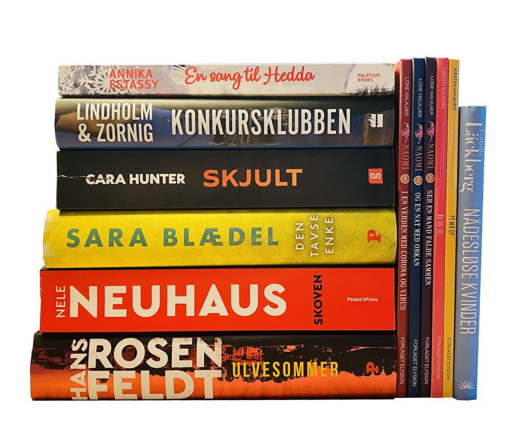Billede af: Bøger læst i november 2020