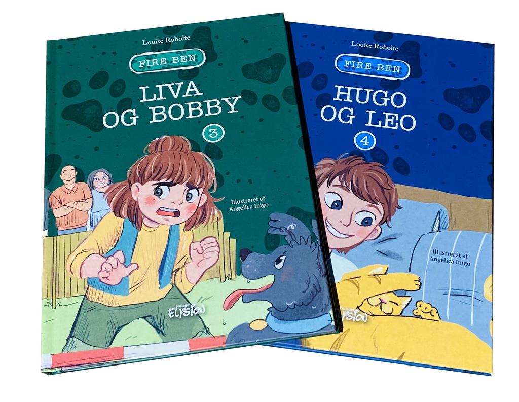 Billede af: Liva og Bobby + Hugo og Leo af Louise Roholte