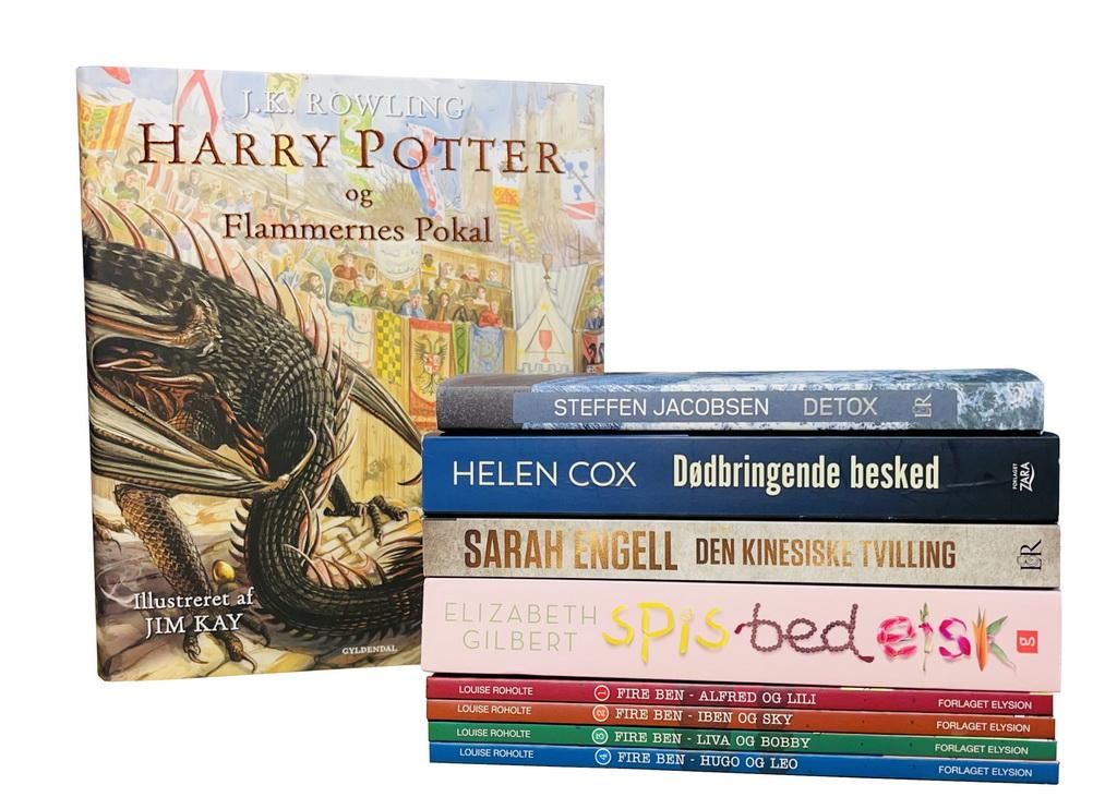 Billede af: Bøger læst i december 2020