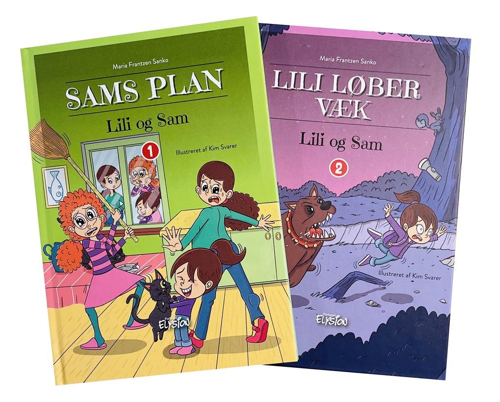 Billede af: Lili og Sam 1-2 af Maria Frantzen Sanko