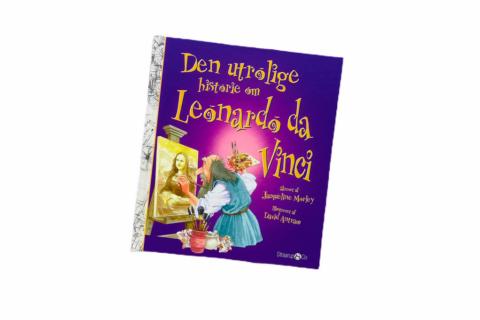 Billede af: Den utrolige historie om Leonardo da Vinci af Jacqueline Morley