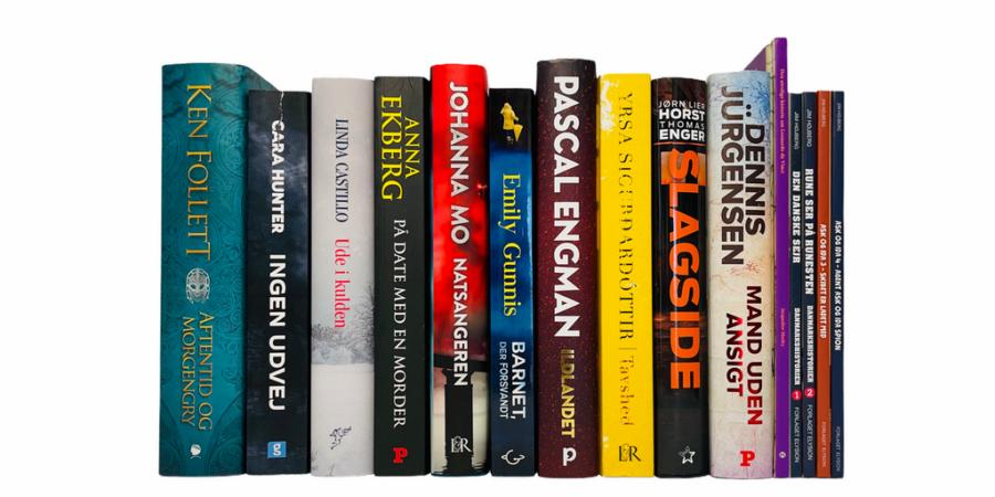 Billede af: Bøger læst i marts 2021