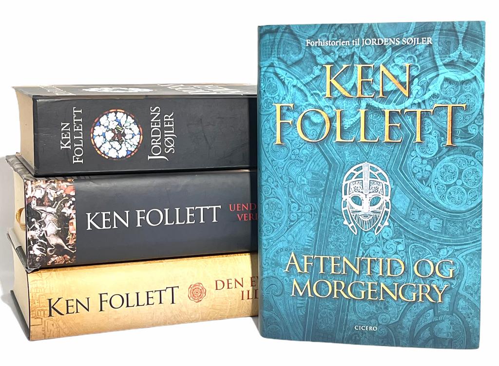 Billede af: Aftentid og morgengry + de øvrige bøger i Kingsbridge-serien af Ken Follett