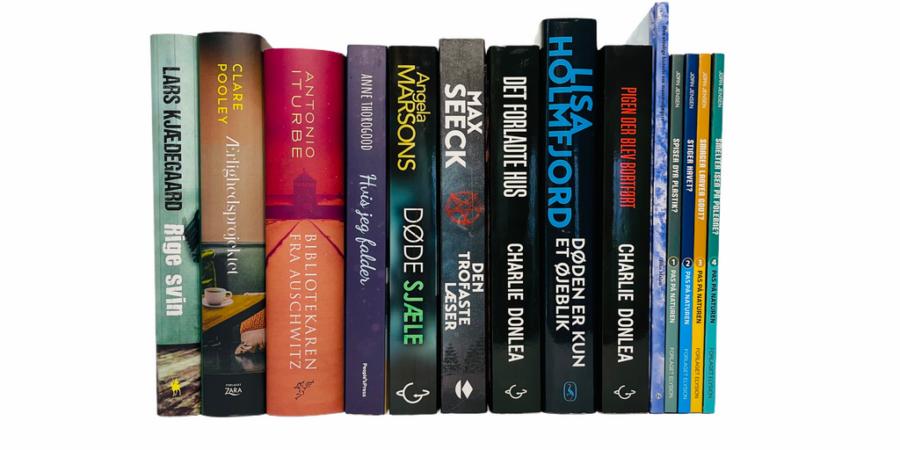 Billede af: Bøger læst i april 2021
