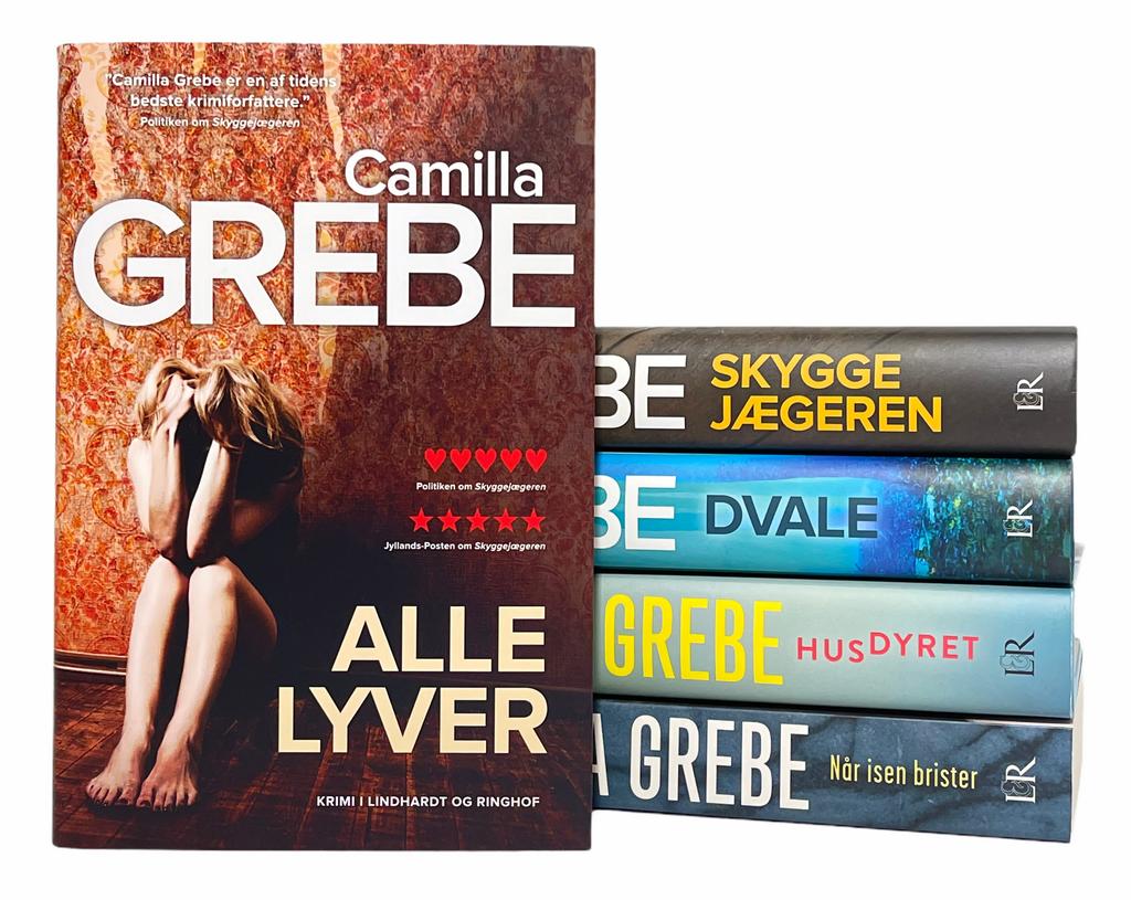 Billede af: Alle lyver + de fire forrige bøger af Camilla Grebe