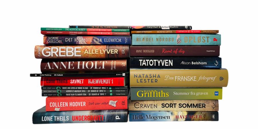 Billede af: Bøger læst i maj 2021