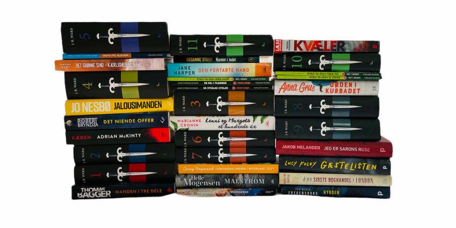 Billede af: Bøger læst i juni og juli 2021